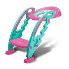Redutor de Assento Multikids Baby Step Potty com Escada Rosa - BB052