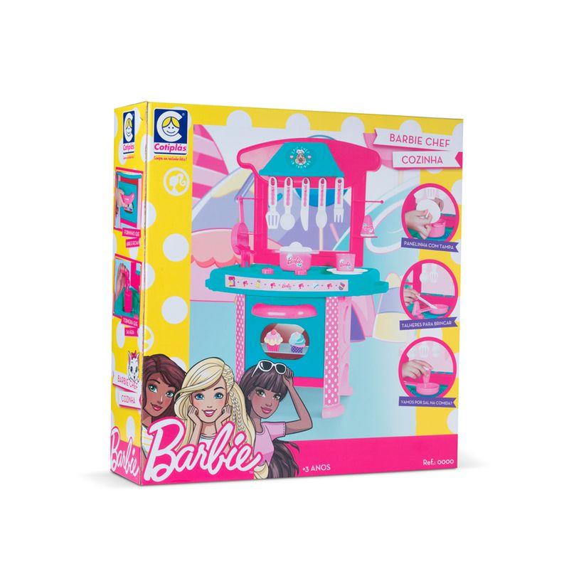 Cozinha-de-Brinquedo-Barbie-Chef-Cotiplas