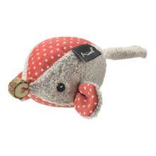 Brinquedo De Pelúcia Para Gatos Ratinho Patterns Star Cinza Mimo - PP238