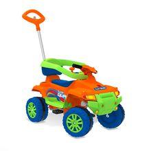 Carro a Pedal Infantil Bandeirante Supersquad Volante com Buzina Suporta 40Kg