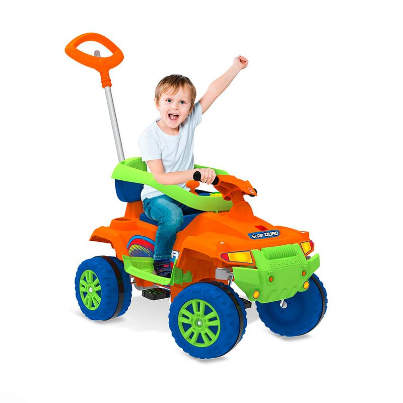 Carro-a-Pedal-Infantil-Supersquad-Bandeirante