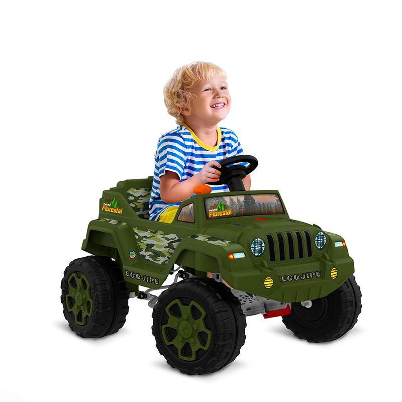 Carro-a-Pedal-Infantil-Ecojipe-Bandeirante