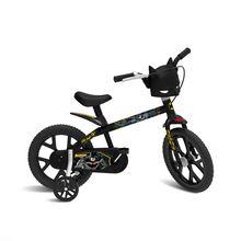 Bicicleta Aro 14 Batman com Freio Dianteiro e Regulagem de Altura Bandeirante