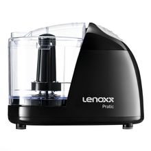 Mini Processador de Alimentos Pratic 100W com Lâminas de Inox Lenoxx