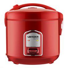 Panela Elétrica de Arroz Easy Red Easy Red 5 xícaras Lenoxx