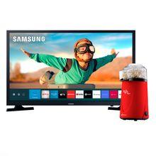 """Televisão E Pipoqueira Smart 32"""" Pop Red"""