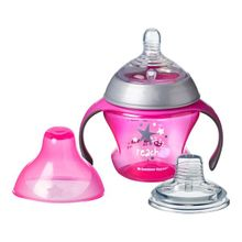 Copo de Transicao Sippee Tommee Tippee +Bico Extra 1 Und 50Z/150ML- Rosa - TT020