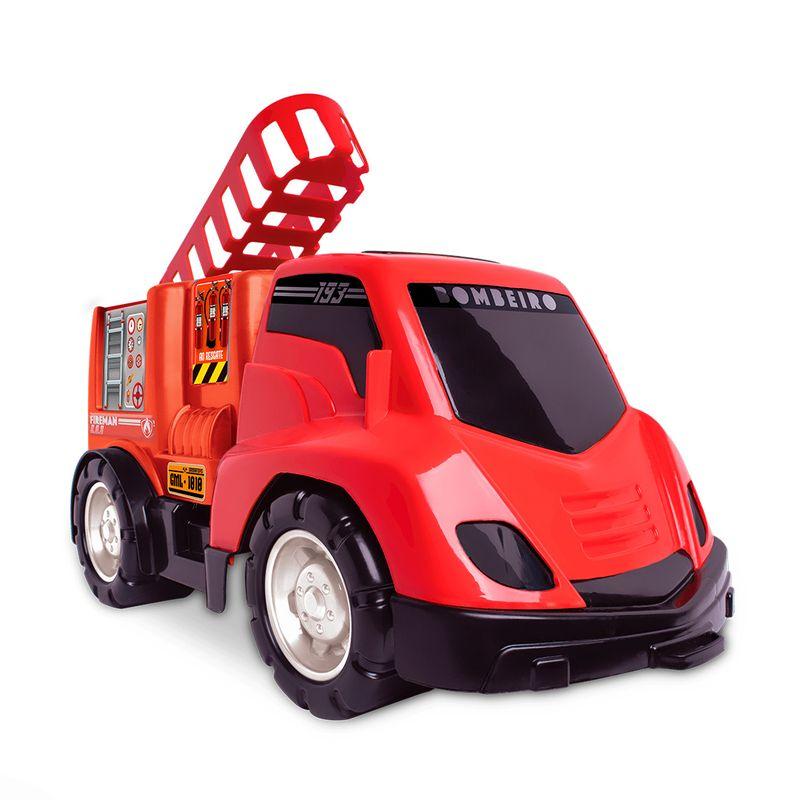 Carrinho-de-Brinquedo-Base-Bombeiro-Samba-Toys