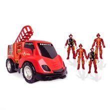 Carrinho de Brinquedo Base Móvel dos Bombeiros Samba Toys