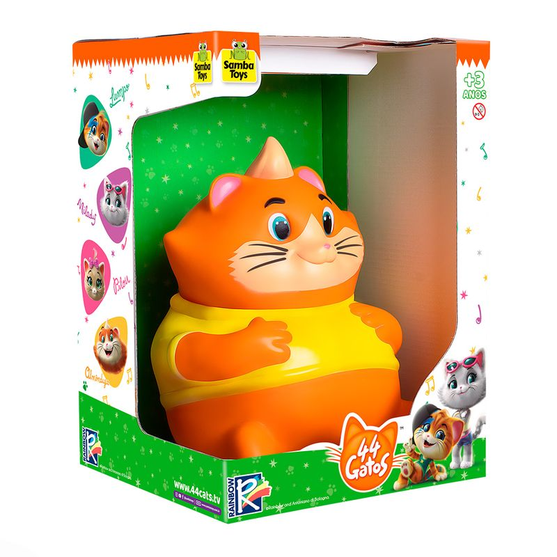 Gato-de-Brinquedo-Almondega-Samba-Toys