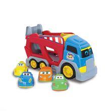 Carrinho de Brinquedo Baby Cargo com 4 Carrinhos Big Star
